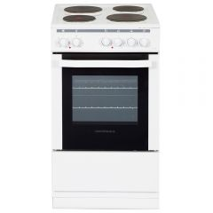 NordMende CSE514WH 50cm Single Cavity Electric Cooker (White)