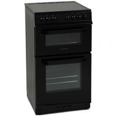 NordMende CTEC51BK 50cm Twin Cavity Electric Cooker with Ceramic Hob