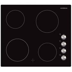 NordMende HC604FL 60cm Ceramic Hob (Black Glass)