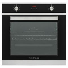 NordMende SOC316IX 78 Litre Multifunction Single Fan Oven (Black and Stainless Steel)