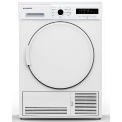 NordMende TDC72WH 7kg B Energy Condenser Tumble Dryer White with Sensor Drying