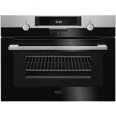 AEG KMK561000M Combination Microwave compact oven - S/Steel