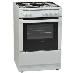 NordMende CSG63LPGWH 60cm Single Cavity LPG Gas Cooker (White)