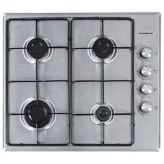 NordMende HGE603IX 60cm Gas Hob (Stainless Steel)